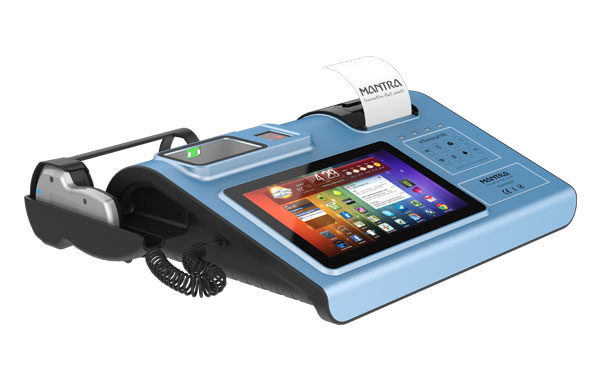 Biometric POS Machine